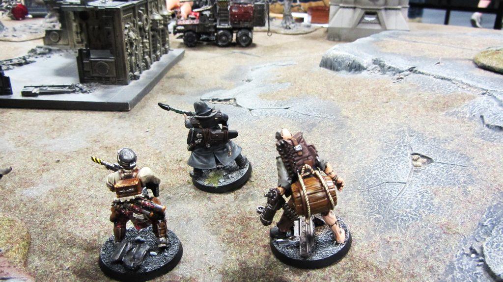 Korpik's bounty hunters make slow progress through the biting winds
