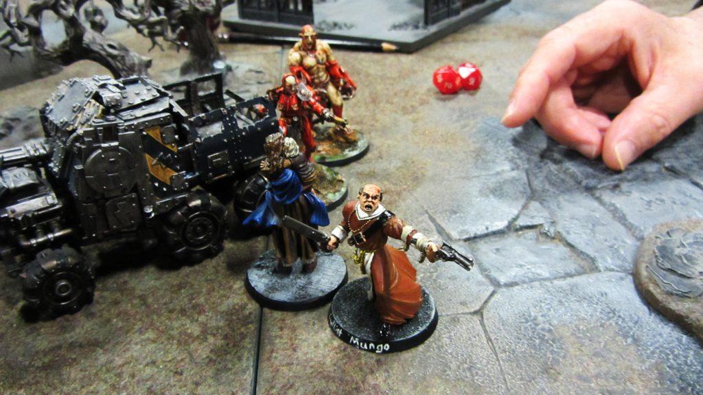 Lucretia and X103 spring their trap