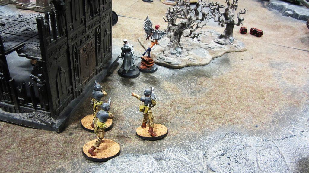 Loyalists advance