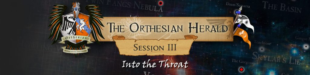 Orthesian Herald: session 3 – Into the Throat