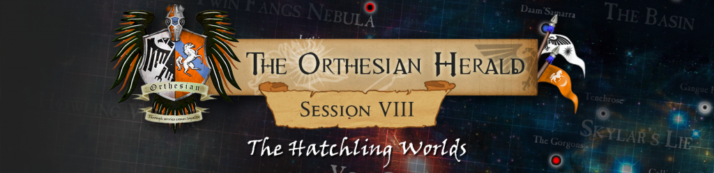 Orthesian Herald 8 - The Hatchling Worlds