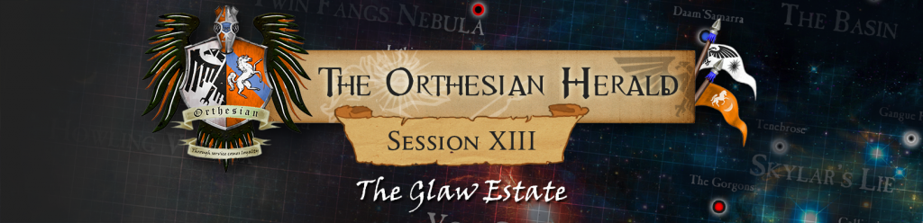 Orthesian Herald 13 - The Glaw Estate
