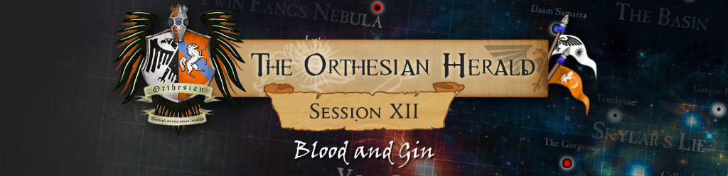 Orthesian Herald 12 - Blood and Gin